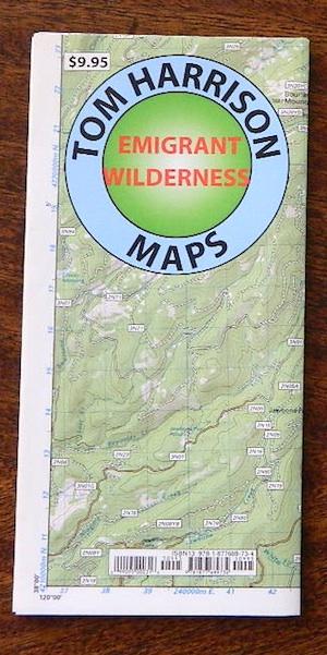 Emigrant Wilderness Trail Map – Total Escape Map Shop