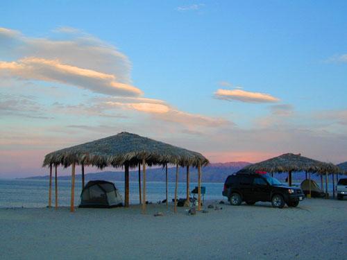 Camping Gonzaga Bay