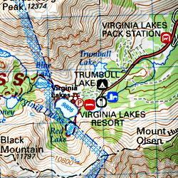 Topo Trail Map