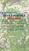 Devils Postpile Map