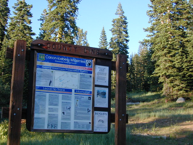 County Line Trailhead