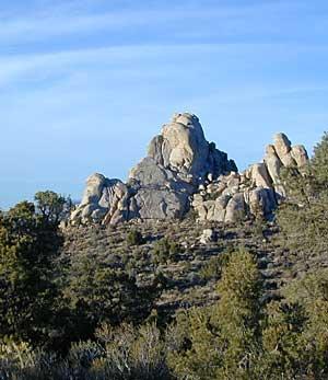 Mojave Boulders