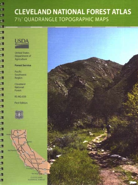 Cleveland Forest Topo Atlas – Total Escape Map Shop
