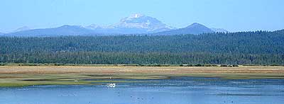 Lassen Peak from Lake Almanor