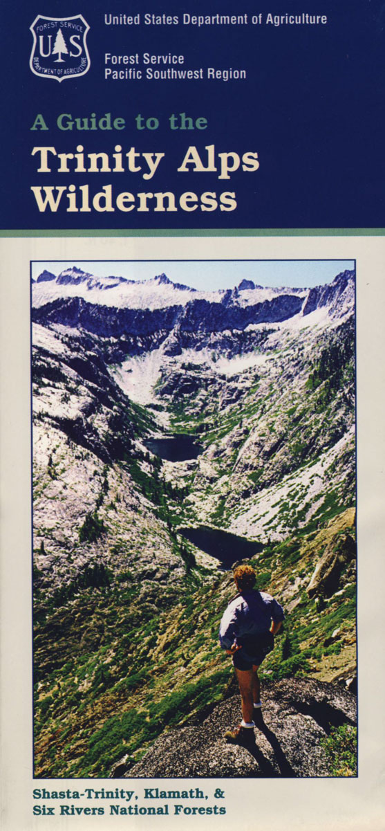 Trinity Alps Wilderness Map – Total Escape Map Shop
