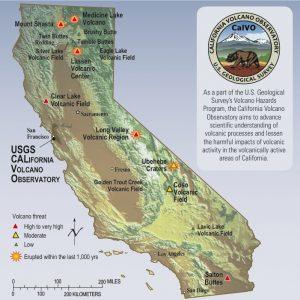 USGS Volcano California