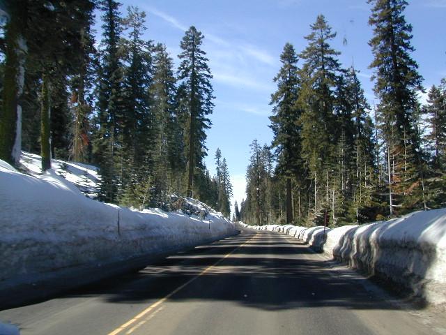 plowed highway