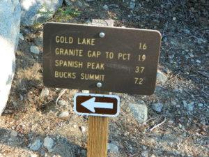 gold lake sign