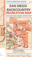 San Diego Backcountry Map