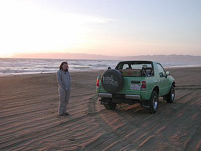 Pismo Camp on Beach