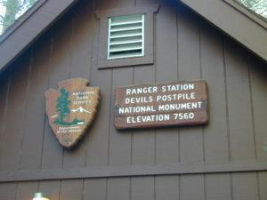 NPS Ranger Station