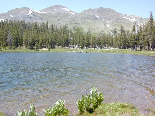 cool sierra lakes
